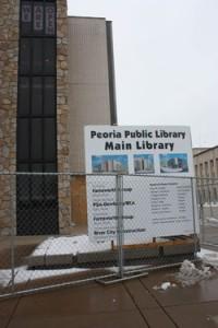 Peoria Public Library renovation