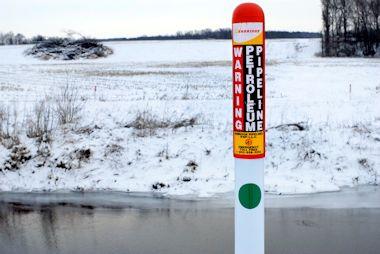 Enbridge pipeline. Rev. Tony Pierce