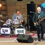 "PHOTO BY BILL KNIGHT Slink Rand, drummer Matthew Warren and Craig ""Wolfman"" Moore will perform Aug. 20 at Catalpa Grove in Toulon."