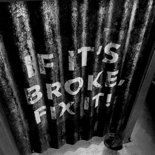 If it is broke