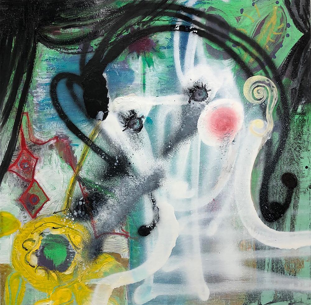Rosalyn Schwartz painting