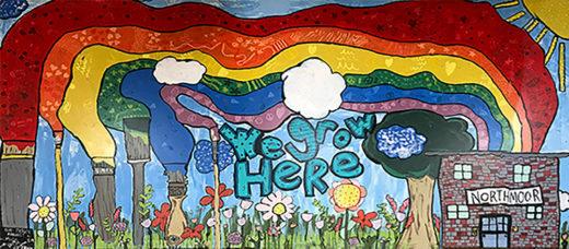 Northmoor School mural