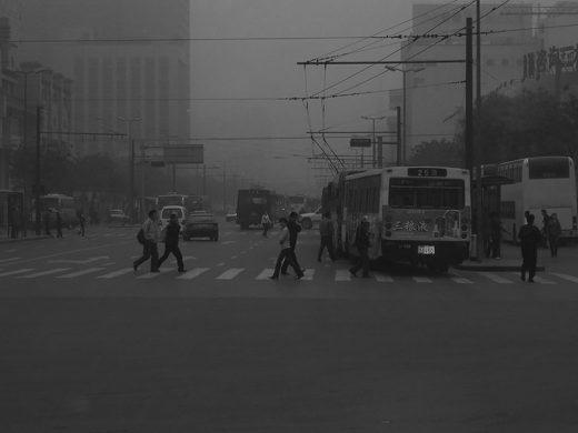 Dust storm in Beijing